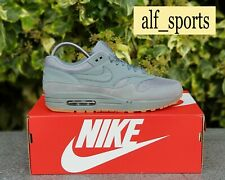 ❤ BNWB, Deadstock & Genuine Nike ® Air Max 1 Trainers Grey & Gum Sole UK Size 7