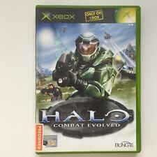 HALO Combat Evolved game for XBOX Original, With manual, Tested Working
