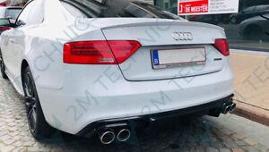Audi A5 S5 S-Line Diffuser Diffusor Undertray Sportback Rear RS5 Fiberglass