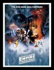 Star Wars - The Empire Strikes Back - 30 x 40cm Framed Poster Print FP11221P