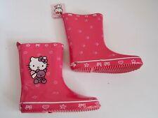 Hello Kitty Gummistiefel gr. 31 rosé mit Sternen