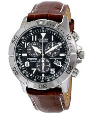 Citizen BL5250-02L Men's Watch Titanium  Perpetual Calendar Leather Strap