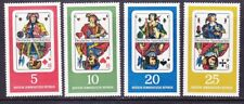 Germany DDR 941-44 MNH 1967 German Playing Cards Complete Set Very Fine