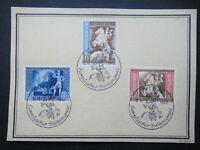 Germany Nazi 1942 Stamps FDC Postilion European Postal Congress, Vienna WWII Thi