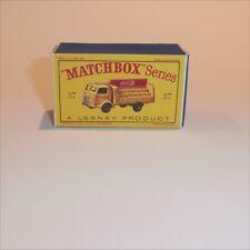 Matchbox Lesney 37 b Karrier Coke Coca Cola Truck Repro D style Empty Box