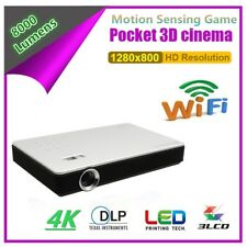 1080p Full HD DLP 3D Home Theater Projector LED Bluetooth Android Wifi HDMI RJ45
