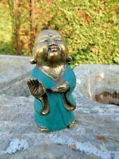 BOUDDHA  EN BRONZE , statue bouddha shaolin bronze