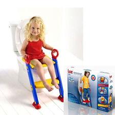 Niño asiento del inodoro escalera | ahorro de espacio Bebé asientos de inodoro de entrenamiento para niños