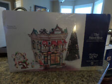 DEPARTMENT 56 SNOW VILLAGE THE SWEET SHOP GIFT SET RARE!!