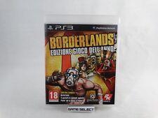BORDERLANDS EDIZIONE GIOCO GOTY GAME OF THE YEAR SONY PS3 PAL ITALIANO COMPLETO
