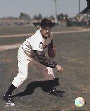 BOB FELLER 8X10 PHOTO CLEVELAND INDIANS MLB BASEBALL PICTURE HOF 'ER