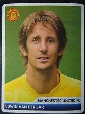 Panini 57 Edwin van der Sar Manchester United UEFA CL 2006/07