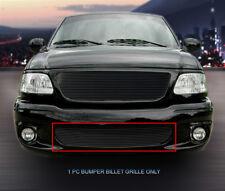 99-03 Ford F-150 Lightning Black Billet Grille Grill Bumper Insert Fedar