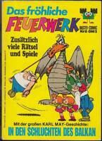Das fröhliche Feuerwerk Band 6 Karl May In den Schluchten des Balkan (1972) Z 2+