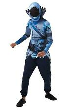 Official Child Frozen Raven Fortnite Halloween Boys Fancy Dress Costume