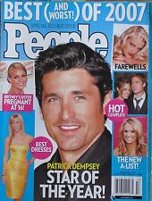 PATRICK DEMPSEY 2007 PEOPLE Magazine REESE WITHERSPOON / ANNA NICOLE SMITH