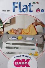 OkBaby Flat,Wickelkommode,Wickelaufsatz für Badewanne,Tisch oder Kinderbett