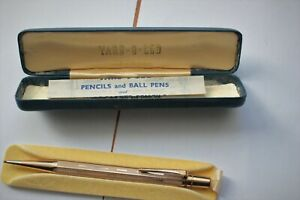 New Boxed Rolled Gold Yard O Led Pencil Made In England