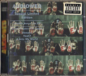 "AUDIOWEB -""Audioweb""-Special Ltd Edition w/Bonus Live CD-Dub Rock-NEW 2CD"