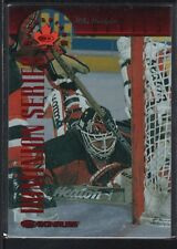 MIKE DUNHAM 1997/98 DONRUSS CANADIAN ICE  #87  DOMINION DEVILS SP #139/150