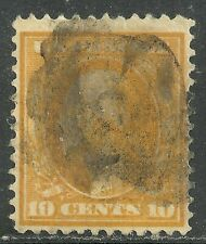 U.S. Postage Stamp scott 338 - 10 cent Washington issue of 1909