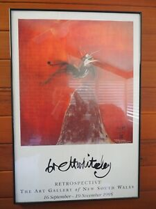 "Collectable Brett Whitely Retrospective ""Lyrebird"". Great Condition. Marsfield."
