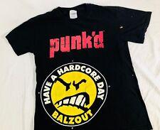 VTG MTV Balzout Have A Harcore Day Punked T Shirt Size Mens Medium