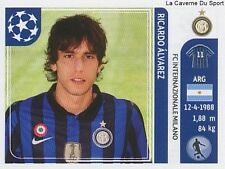 N°086 RICARDO ALVAREZ # ARGENTINA FC.INTER STICKER CHAMPIONS LEAGUE 2012