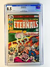 Eternals 2 CGC 8.5 1st appearance of Ajak & the Celestials Jack Kirby MCU Movie