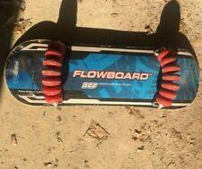 Flow Flowboard 14 Wheel Deep Carve System SkateBoard Rare Red Wheels- Easy Flow!