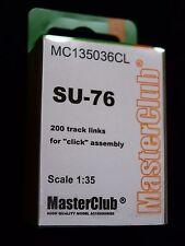Tracce di resina per SU-76, MC135036CL, MasterClub, 1:35