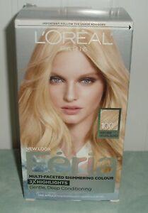 Loreal Paris Feria Very Light Natural Blonde 100 Pure Diamond Permanent Hair Gel