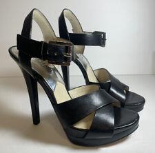 Michael Kors Womens Black High Heels Stilettos Shoes Ladies Size 7 M