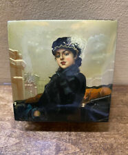 Estate Russian Lacquer Box , Signed by Artist, 94