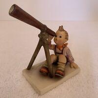 "Hummel Goebel 132  Star Gazer with Telescope 4-1/2"" tall Porcelain Figurine"