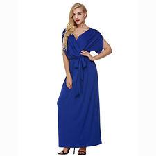 Women Summer Boho Long Maxi Dress Evening Cocktail Party Beach Dress Sundress p
