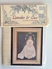 Lavender & Lace I Thee Wed Cross Stitch Chart Pattern Chart Leavitt-Imblum