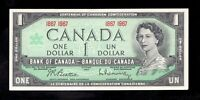 Crisp 1867 - 1967 Centennial - QEII - Bank of Canada $1 note