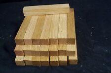 """22 Pc Red Oak Pen Blanks 3/4 x 3/4 x 5"""" Lathe Turning Craft Wood Lumber"""