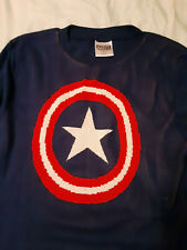Captain America knit sweater size S