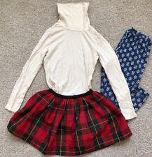 ralph lauren girls leggings Skirt Turtleneck 4/4t (3 Pieces)