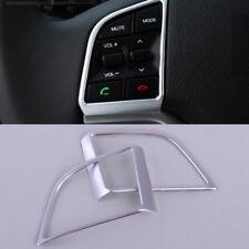 2x Chrome Plated Steering Wheel Panel Cover Badge Insert Trim for Hyundai Tucson