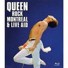Queen-rock Montréal & Live Aid Blu-ray NEUF