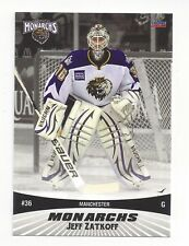 2010-11 Manchester Monarchs (AHL) Jeff Zatkoff (Cleveland Monsters)