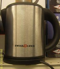 Low Wattage Cordless Swiss Luxx Kettle Caravan Stainless Steel 1L Low Watt 240v