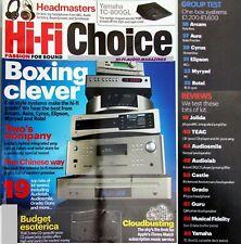 Hi-Fi Choice Aura nota ARCAM SOLO Rotel RCX -1500 AKG AUDIOLAB YAMAHA TC-800G