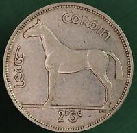 1940 Ireland Eire Irish Half Crown 2/6 coin 75% silver coin *[13357]