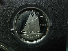 1984 Canadian Proof Dime ($0.10) - Tone