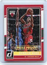 "2015-16 DONRUSS #84 DERRICK ROSE ""PRESS PROOF"" SP #7/10, CHICAGO BULLS"