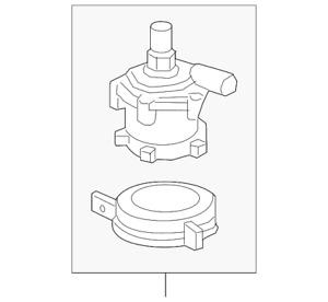 Genuine GM Water Pump 13597899